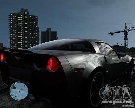 Chevrolet Corvette Grand Sport 2010 für GTA 4 hinten links Ansicht