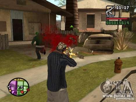 Overdose effects V1.3 pour GTA San Andreas quatrième écran