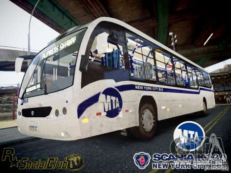 Scania K230 MTA New York City Bus für GTA 4