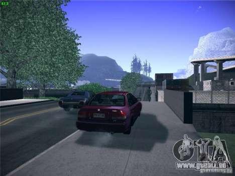 Honda Civic Sedan 1997 pour GTA San Andreas laissé vue