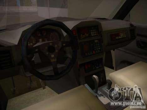 Mitsubishi Pajero für GTA San Andreas Innenansicht