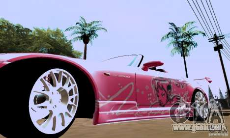 Honda S2000 The Fast and the Furious 2 für GTA San Andreas linke Ansicht