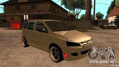 Opel Corsa Tuning Edition pour GTA San Andreas vue arrière