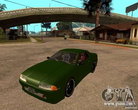 Elegy Green Line pour GTA San Andreas