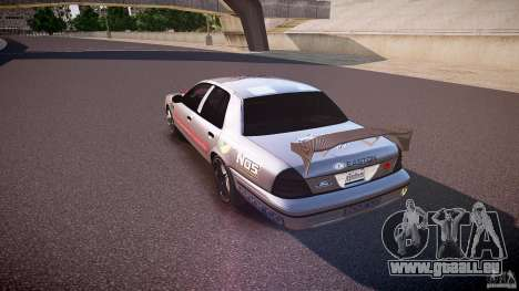 Ford Crown Victoria Tuning (Beta) für GTA 4 hinten links Ansicht