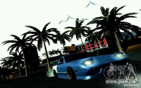Nissan S13 Onevia pour GTA San Andreas vue de côté