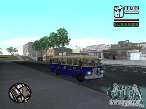 Ikarus 630 pour GTA San Andreas vue intérieure