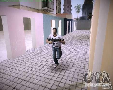 Nouveau M4 GTA Vice City pour la troisième écran