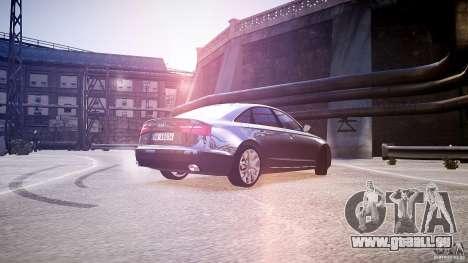 Audi A6 v1.0 pour GTA 4 Vue arrière de la gauche