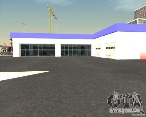 AMG showroom für GTA San Andreas dritten Screenshot