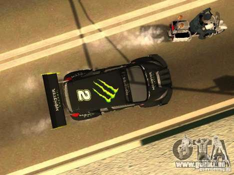 Ford Fiesta Rally Time für GTA San Andreas Seitenansicht