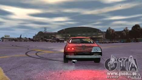 Nissan SkyLine R33 Gt-R S.R für GTA 4 Rückansicht