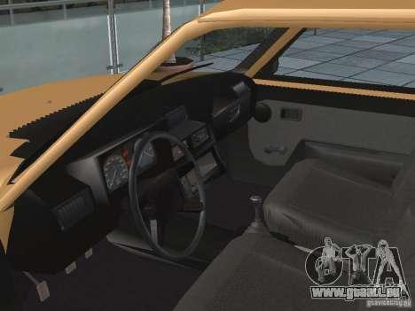 ZAZ Tavria 1103 für GTA San Andreas Rückansicht