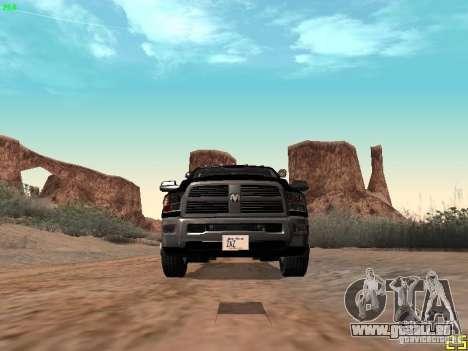 Dodge Ram 3500 Unmarked pour GTA San Andreas vue de côté