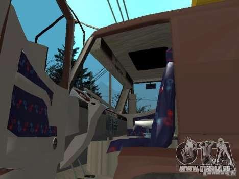BMC pour GTA San Andreas vue arrière