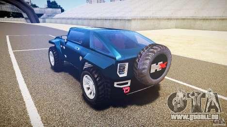Hummer HX für GTA 4 hinten links Ansicht