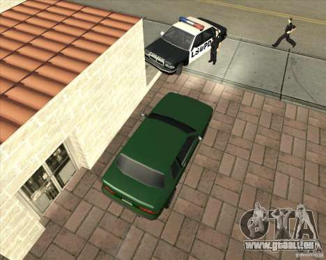 Car in Grove Street pour GTA San Andreas