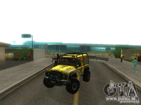 Land Rover Defender Off-Road für GTA San Andreas