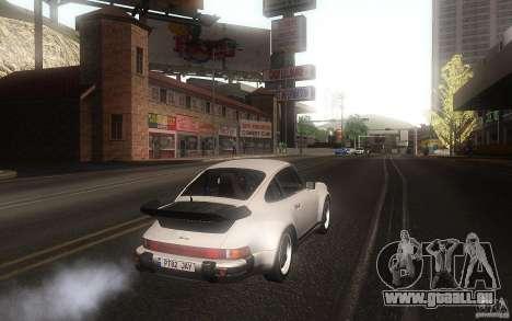 Porsche 911 Turbo 1982 pour GTA San Andreas vue de droite