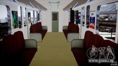 Metro russe pour GTA 4 troisième écran