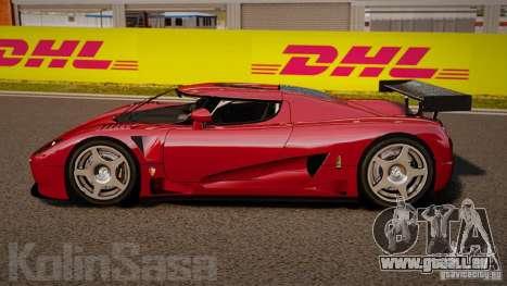 Koenigsegg CCGT Stock für GTA 4 linke Ansicht