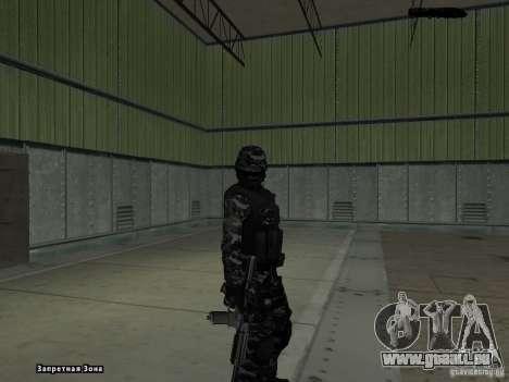 New Army pour GTA San Andreas troisième écran