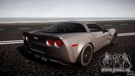 Chevrolet Corvette ZR1 2009 v1.2 für GTA 4 obere Ansicht