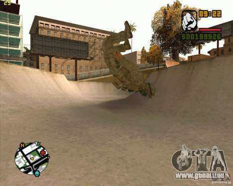 Parkour discipline beta 2 (full update by ACiD) für GTA San Andreas fünften Screenshot