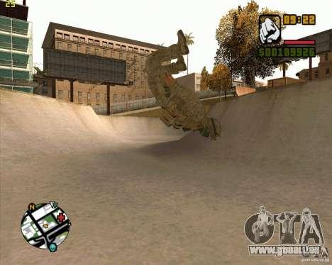 Parkour discipline beta 2 (full update by ACiD) für GTA San Andreas fünften Screenshot