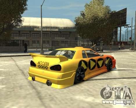 Elegy Tuning für GTA 4 rechte Ansicht