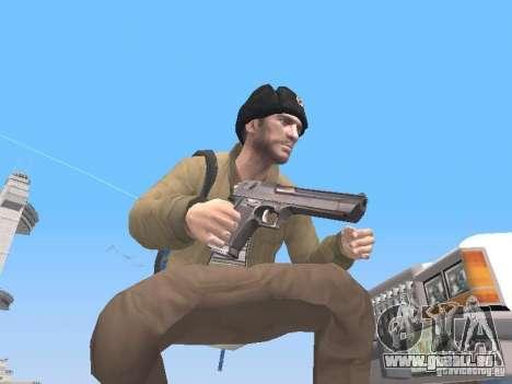 HQ Weapons pack V2.0 pour GTA San Andreas deuxième écran