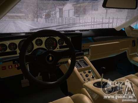 Lamborghini Countach LP5000 für GTA San Andreas Rückansicht