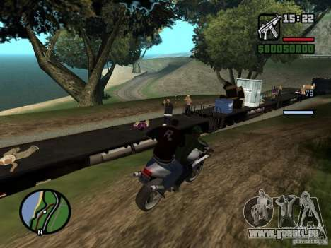 Great Theft Car V1.1 für GTA San Andreas sechsten Screenshot