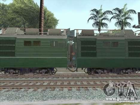 VL80K-548 pour GTA San Andreas sur la vue arrière gauche