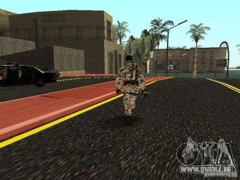 Avenger Arctique pour GTA San Andreas troisième écran