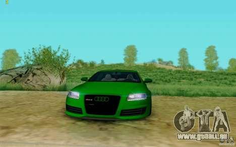 Audi RS6 OTIS pour GTA San Andreas vue de droite