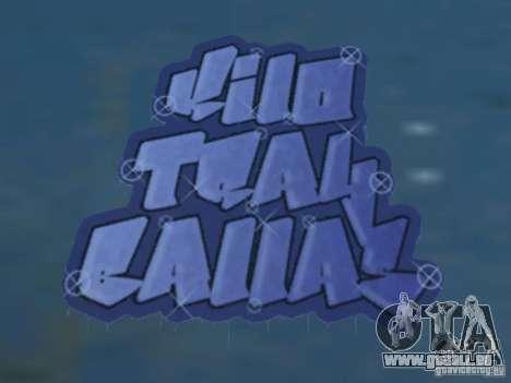 New LS gang tags pour GTA San Andreas quatrième écran