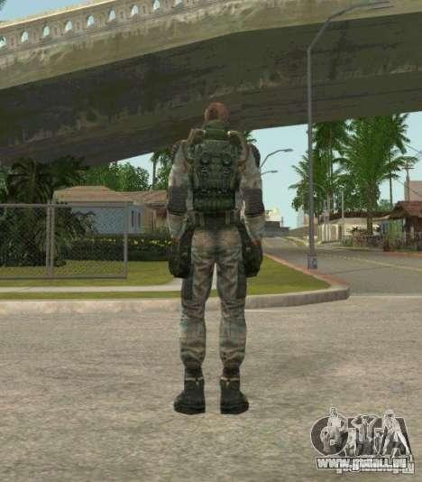 Lebedev von Stalker clear sky für GTA San Andreas dritten Screenshot