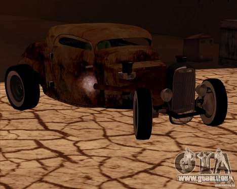 Ford Rat Rod pour GTA San Andreas sur la vue arrière gauche