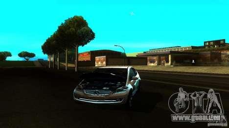 Mercedes-Benz A200 Turbo für GTA San Andreas Rückansicht