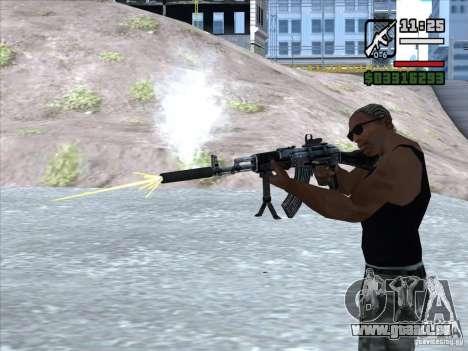 AK-103 de WARFACE pour GTA San Andreas