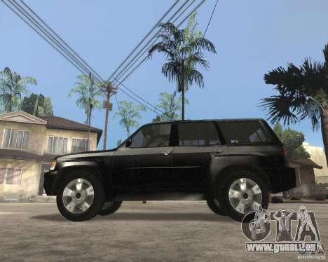 Nissan Patrol 2005 Stock pour GTA San Andreas laissé vue