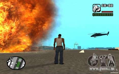Luftunterstützung, wenn Sie angreift. für GTA San Andreas her Screenshot
