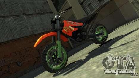 Stunt Supermotard Sanchez für GTA 4 rechte Ansicht