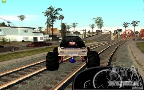 Jetta Monster Truck pour GTA San Andreas vue de droite