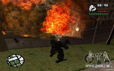 Exoskelett für GTA San Andreas siebten Screenshot