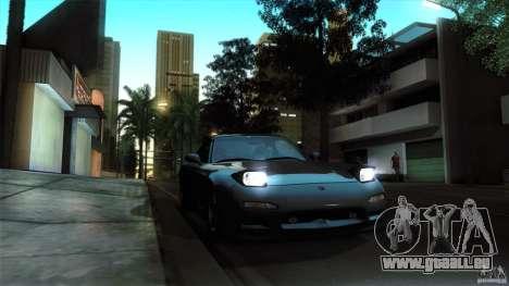 Mazda RX-7 FD 1991 pour GTA San Andreas vue arrière