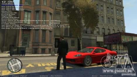 Einfache Trainer Version 6.2 für 1.0.1.0-1.0.0.4 für GTA 4 neunten Screenshot