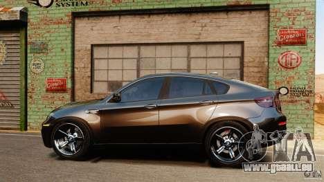 BMW X6 M 2010 für GTA 4 linke Ansicht
