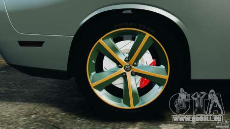 Dodge Challenger SRT8 2009 [EPM] pour GTA 4 Salon